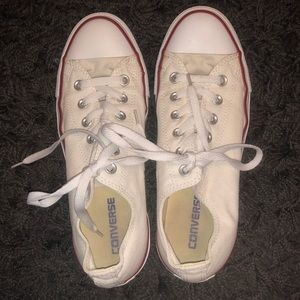 CONVERSE White Low Top Shoes